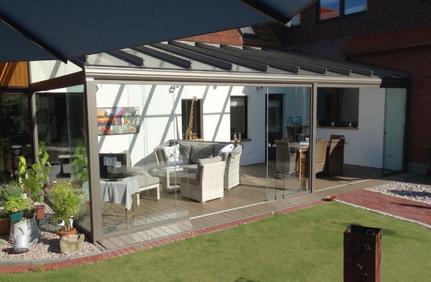Ein Terrassendach für einen ganz besonderen Kunden